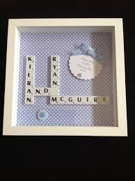 christening gift for twin boys