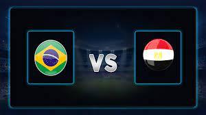 موعد مباراة مصر والبرازيل اليوم 31-07-2021 في أوليمبياد طوكيو