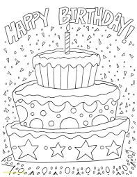 Happy Birthday Coloring Pages Printable Luxury Dad Birthday Cards
