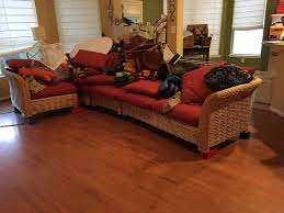 save furniture. a north houston family used large lego blocks to save their couch and kitchen table furniture