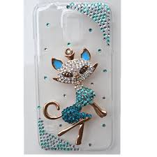 samsung galaxy s5 3d cases. evtech(tm) 3d handmade rhinestone cute cat series crystal diamond design white hard case cover for samsung galaxy s5 i9600 s5/ gs 5 at\u0026t 3d cases y