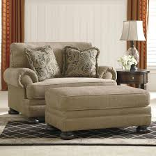 ashley signature design keereel sand chair and a half ottoman item number