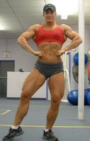 Domination of women bodybuilders