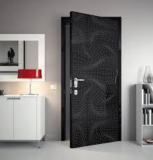 black 3d door bedroom interior design futuristic doors design ideas