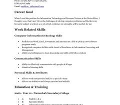 How To Make A Resume For A Teenager First Job Example Of Resume For Teenager Literarywondrous Sample First Job 84