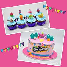 Cupcakes Mymonicakes Shopkins Cupcake Cake With Fondant Mini
