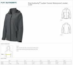 Port Authority Ladies Torrent Waterproof Jacket L333 L Dark Fuchsia