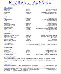 Actor Resume 100 Film Actor Resume Resume Cover Note Film Resume Builder Film Resume 66