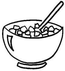 bowl of cereal clipart. Fine Clipart Free Coloring Pages Of Cereal In A Bowl In Bowl Of Cereal Clipart L