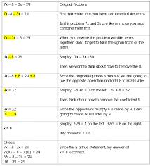 two step equations algebra help like