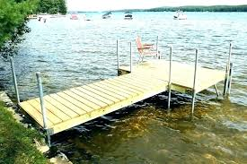 boat dock plans boat dock ideas stationary wood parts shown in use plans floating and designs