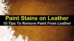how to remove paint from leather titleimg1