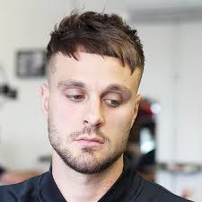 short messy textured crop hairstyle for guys
