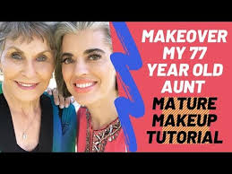 makeover my 77 year old aunt makeup tutorial