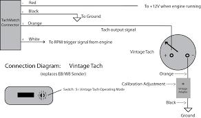 vintage tachometer wiring wiring diagrams best vintage tachometer wiring