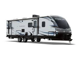travel trailers in valley view