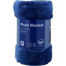 house home plush blanket blue single
