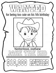 Coloring Pages Cowgirl At Getdrawingscom Free For Personal Use