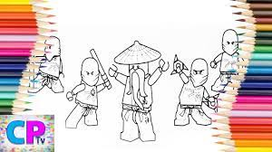 Lego Ninjago Coloring Pages,Red,Blue,How to Color All Lego Ninjago Coloring  Pages Tv,Ninjago Drawing - YouTube
