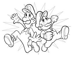 Small Picture Super Mario Coloring Pages 3 Coloring Kids