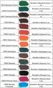 Noodler S Ink Properties Chart Noodlers Ink Color Swatch 002 Noodlers Ink Ink Ink Color