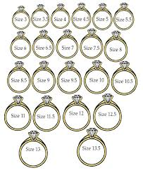 Real Size Ring Chart Ring Chart Just Hold Your Ring Up To The Screen To See The
