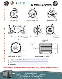 techtop electric motors 120 Volt Plug Wiring Diagram metric help sheet; cover
