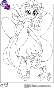 Equestria Girls Coloring Pages - GetColoringPages.com