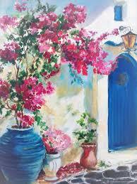 oil painting greece natalia davydova my livemaster greece