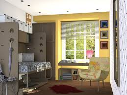 Bedroom:Simple College Dorm Room Design With Wooden Nuance Cool Dorm Design  With Cream Color