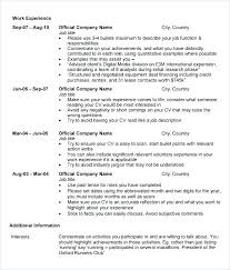 Resume Format For Mba Admission Business School Resume Sample