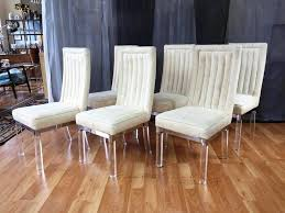 clear lucite dining chair