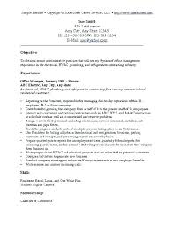 Entry Level Resume Objective This Is Objective Of Resume Goodfellowafbus 87