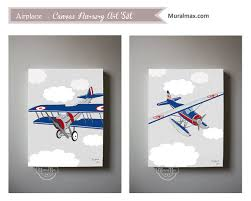 on baby canvas wall art with airplane boys wall art airplane canvas art boys room or