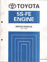Toyota 5S-FE engine repair manual USED - sagin workshop car manuals ...