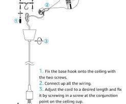 how to wire a multi light pendant nice ul listed single socket pendant light fixture