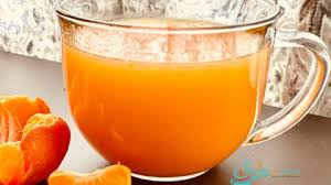 honey orange vitamin c drink swirls
