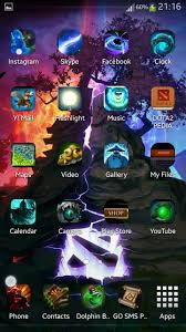 dota 2 android theme completed dota2