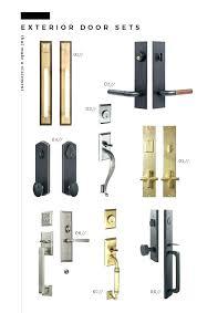 front door hardware brushed nickel. Modern Front Door Hardware Black Handle Statement Knobs Light Fixtures .  Brushed Nickel O