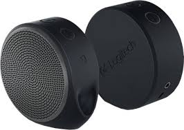 logitech portable speakers. logitech x100 portable bluetooth laptop/desktop speaker speakers
