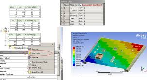 Using External Data In Ansys Mechanical To Tabular Loads