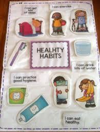 Chart On Healthy Habits Healthy Habits Healthy Habits For Kids Body Preschool