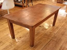 Rectangle Kitchen Table Modern Kitchen Heavy Solid Wood Rustic Rectangle Kitchen Table
