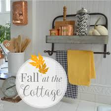 Fall Kitchen Decorating A Flutter Of Fall Home Decorating Fox Hollow Cottage