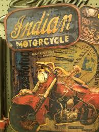 indian motorcycle art