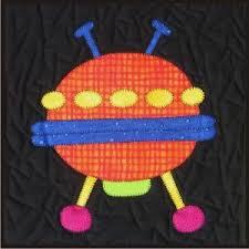 Spaceship Quilt Pattern - Shop Online, Ladybug Hill Quilts ... & Spaceship Quilt Pattern Adamdwight.com