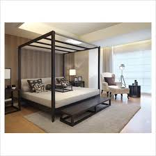 modern four poster bed. Delighful Four Four Poster Double Modern Luxurious Bedroom Bed For O