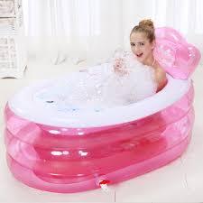 bathing baby in big bathtub ideas