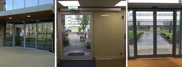 commercial automatic sliding door