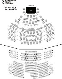 Roundabout Studio 54 Seating Chart Discount Tickets Cabaret Broadway Musical New York Best
